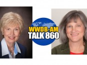 Guests on the August 4, 2015 Boomer Generation Radio program are Jane Thibault, left, and Diane Menio.