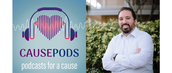 """Mathew Passy is host of """"CausePod,"""" a podcast that features people working to make a difference in their communities."""
