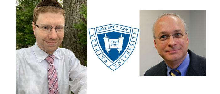 Rabbi Steven Krul, left, and Prof. Gary Stein supervise the certificate program.